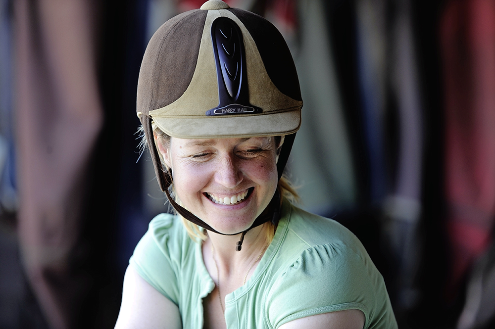 If your riding hat no longer meets the required standards, or if it's damaged, you'll need to get shopping for a new one
