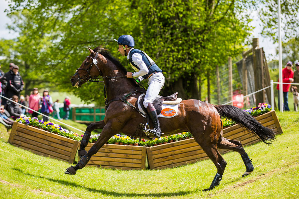 Hear from 2016 Burghley Champion Christopher Burton