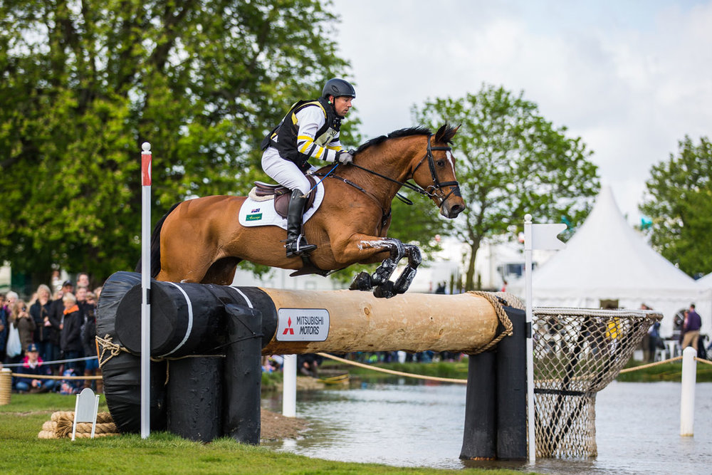 Sam Griffiths will join the line-up at the 2017 International Eventing Forum
