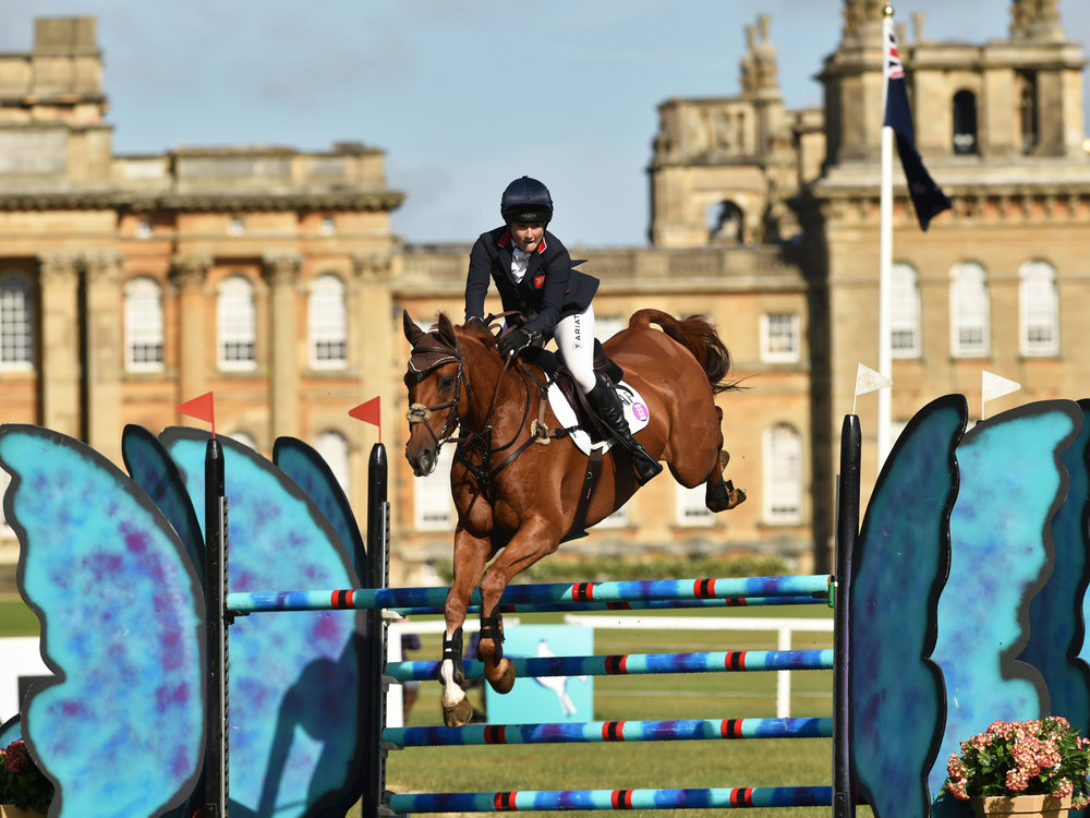 Laura Collett and Grand Manoeuvre (Blenheim Palace International Horse Trials)