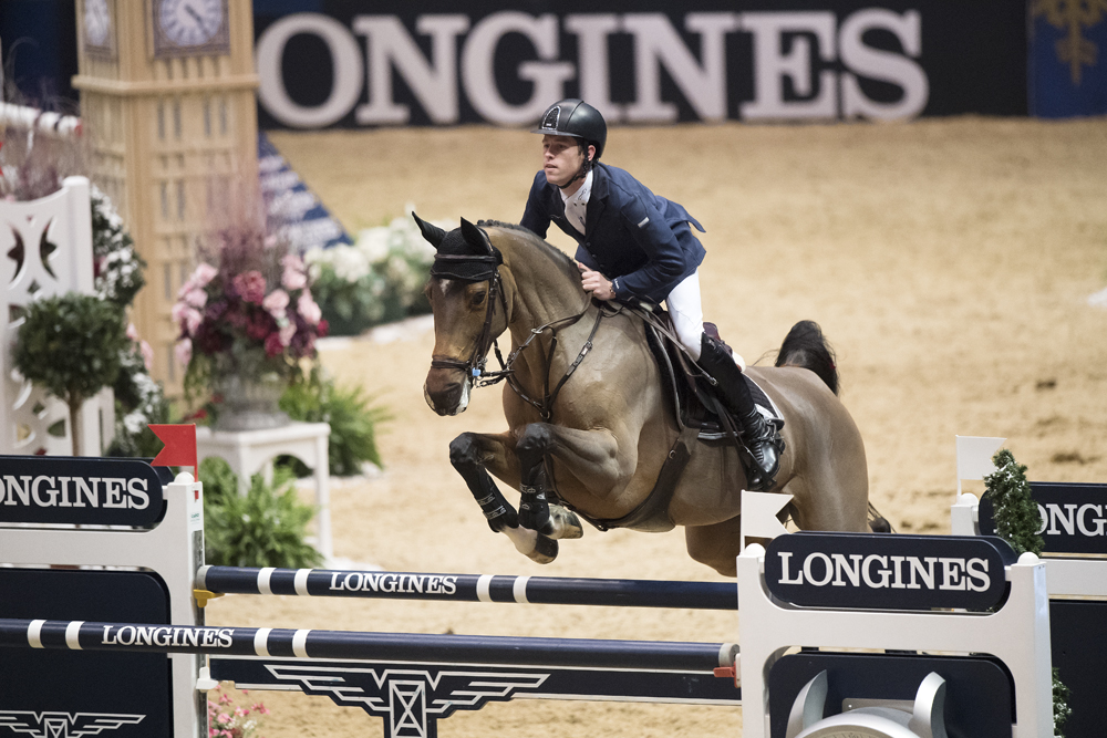 Scot Brash took the top spot at Olympia over the weekend (Pic: FEI)