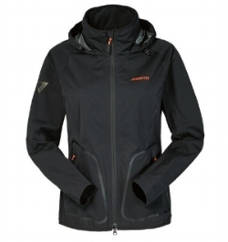 A waterproof outer layer such as the Musto Warm Up jacket completes your winter riding outfit