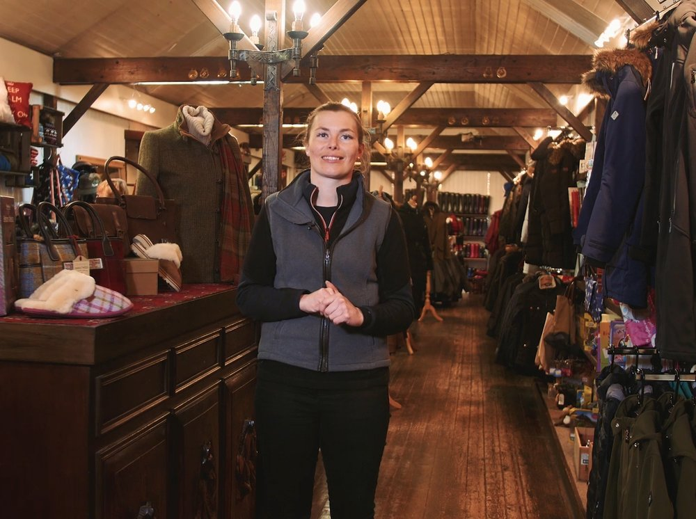 Country Way's Katie James is delighted the store is one of BETA's finalists