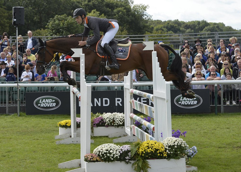 Christopher Burton won last year (Pic: Land Rover Burghley Horse Trials Peter Nixon)
