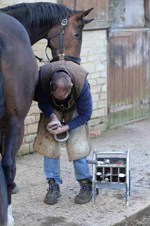 It can be a challenge to overcome farrier fears