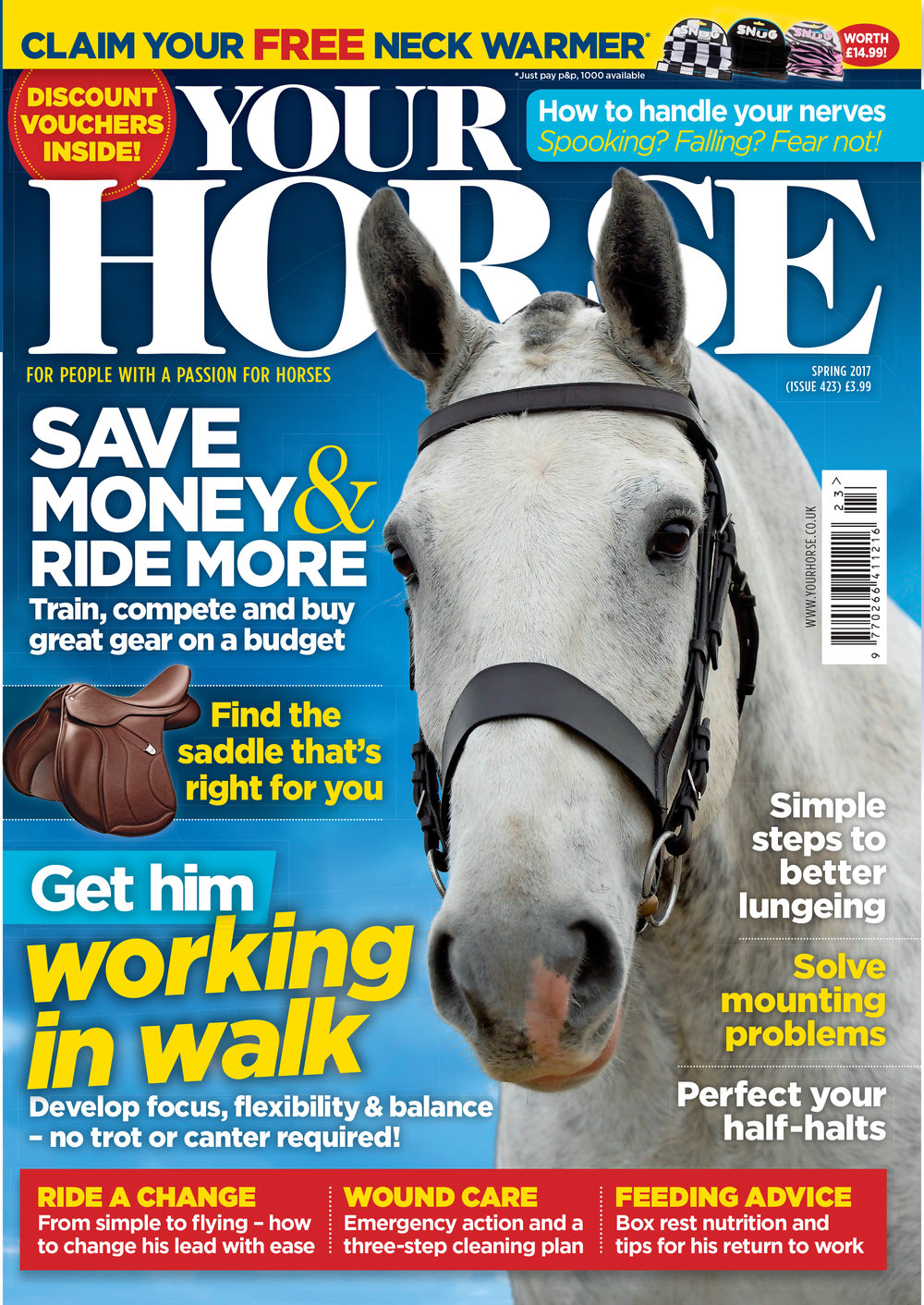 Your horse magazine spring issue cover
