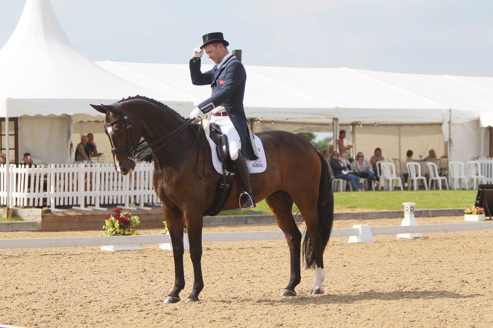 Top riders like Spencer Wilton can be seen competing at Somerford Park
