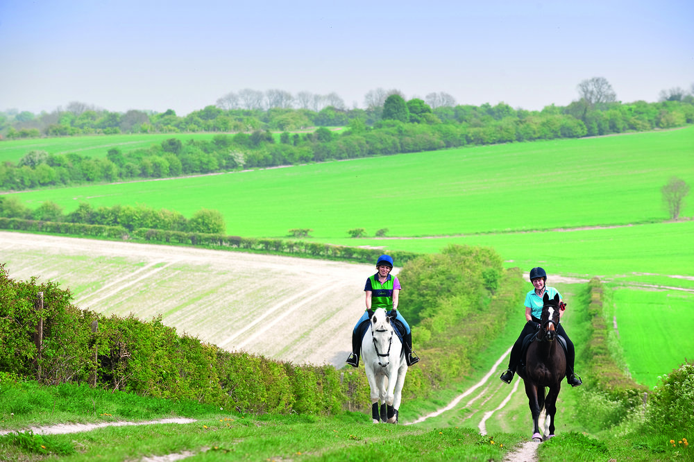 Riding around Totternhoe Knolls offers plenty of opportunities for a blast