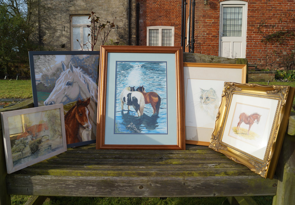 Grab yourself a beautiful piece of artwork at the Redwings Art Sale