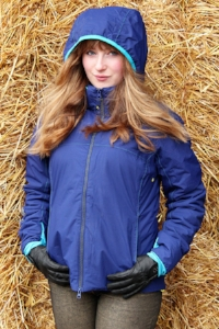 The Maven Jacket in Navy Blue from Tottie