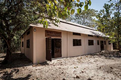 The new centre has been built with money donated to the charity