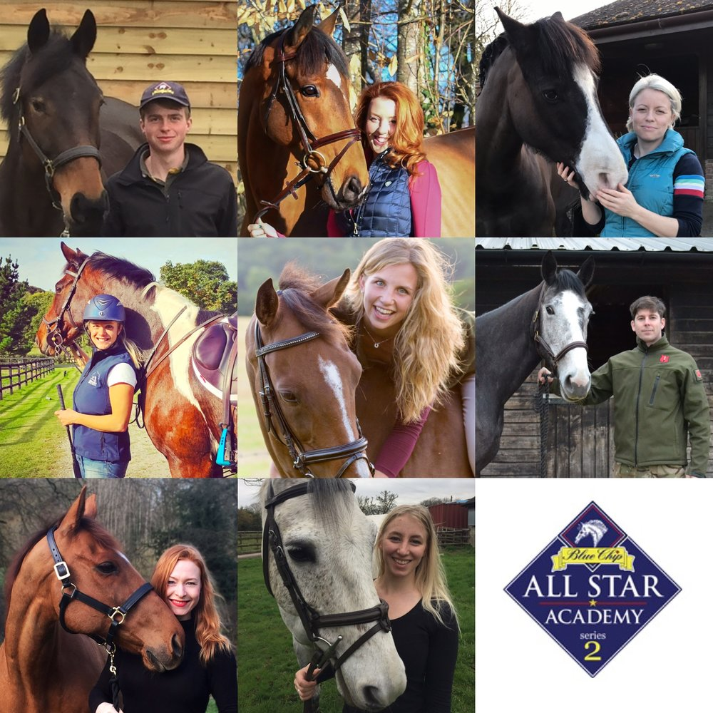 Horse and Country TVAll Stars series two contestants