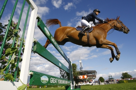 Riders will benefit from an upgraded collecting ring at this year's Great Yorkshire Show