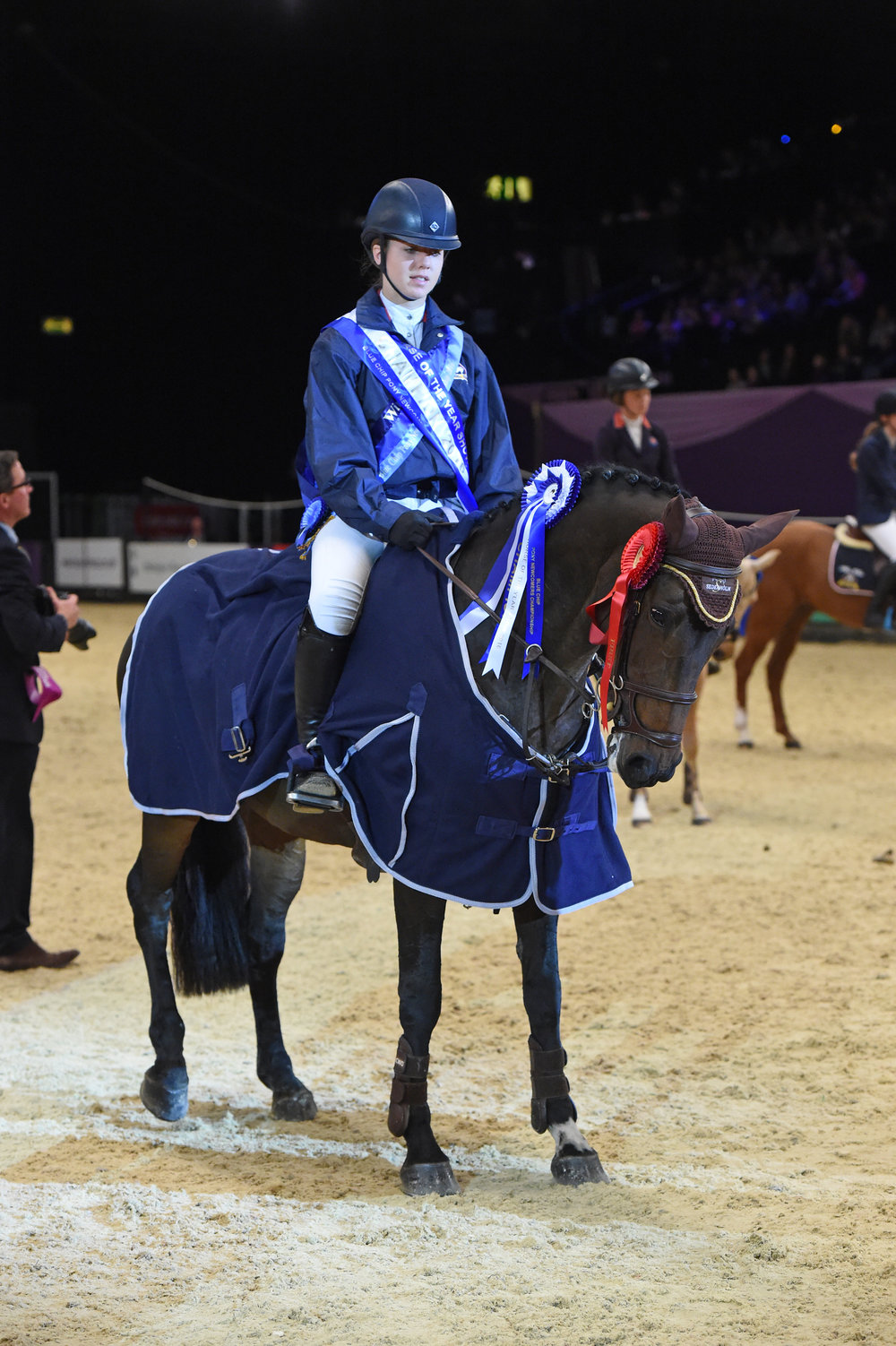 Lottie Tutt & Market Angel - Blue Chip Pony Newcomers Champions (Photo: ES Photography)