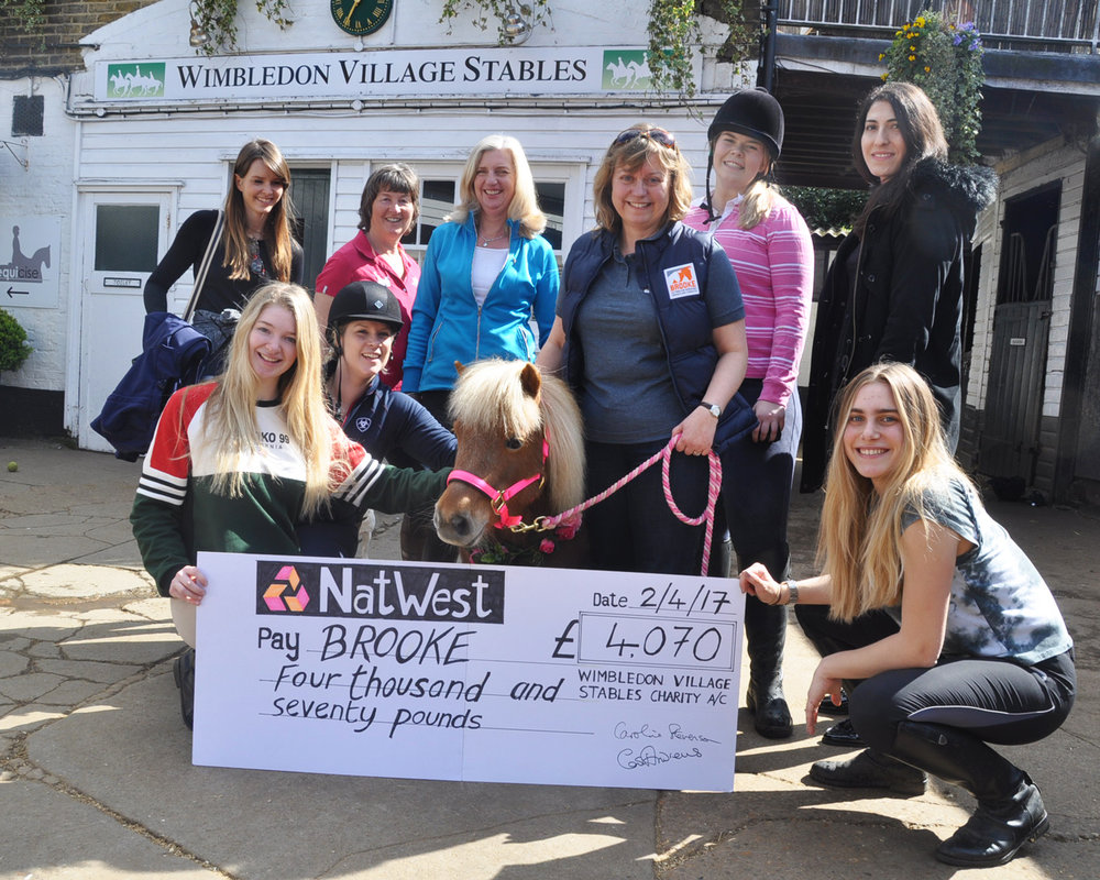 Wimbledon Village Stables raised over £4000 at their charity ball (Pic: Brooke)