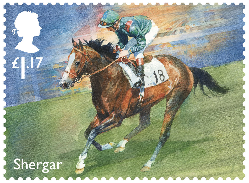 Racehorse Legends Shergar stamp 400%.jpg