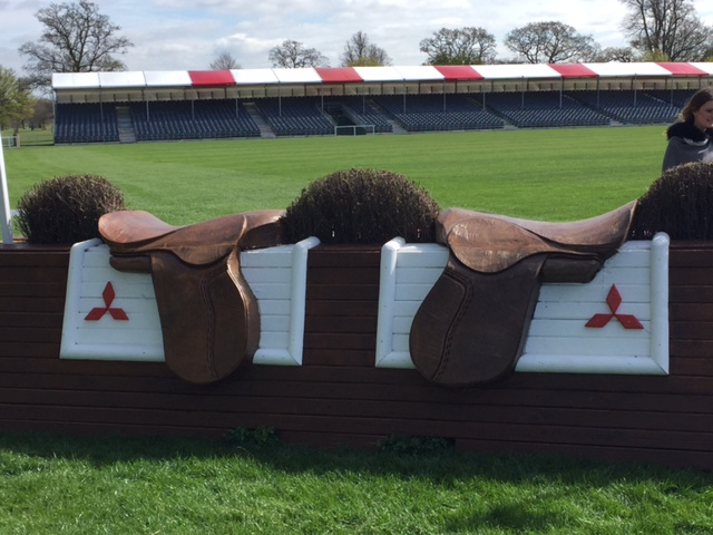 The MITSUBISHI FINAL MOUNT - of 13,000 votes online nearly 4,000 went for Tots Hanson's carved saddles