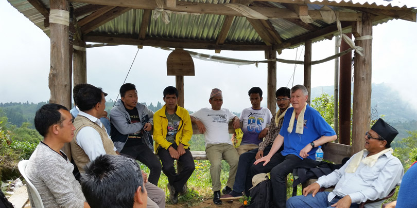 The Samal Valley tea estate horse owners group