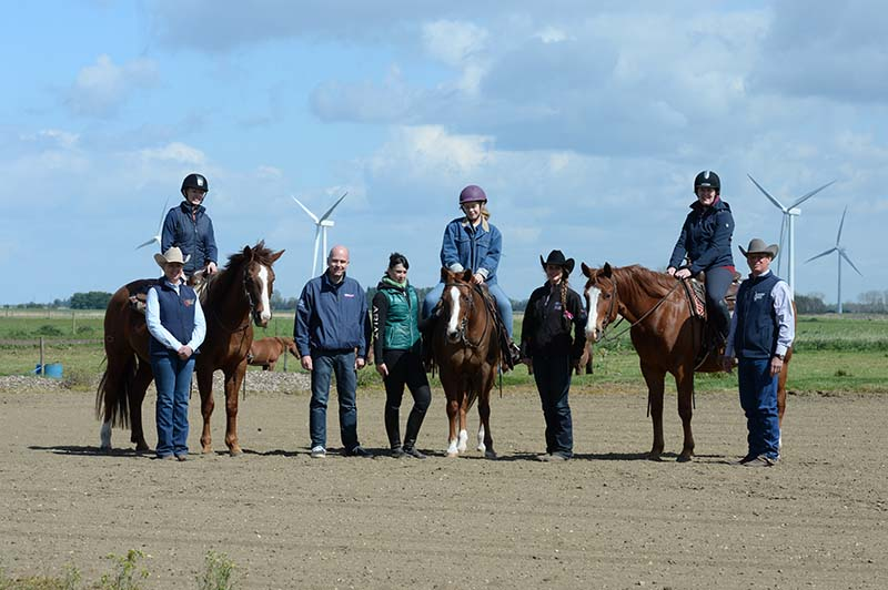 The Your Horse team at Soverign Quarter Horses