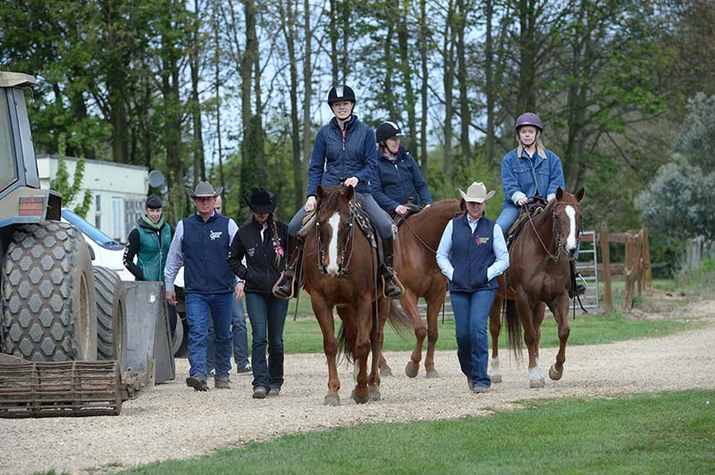 The Your Horse team and David Deptford
