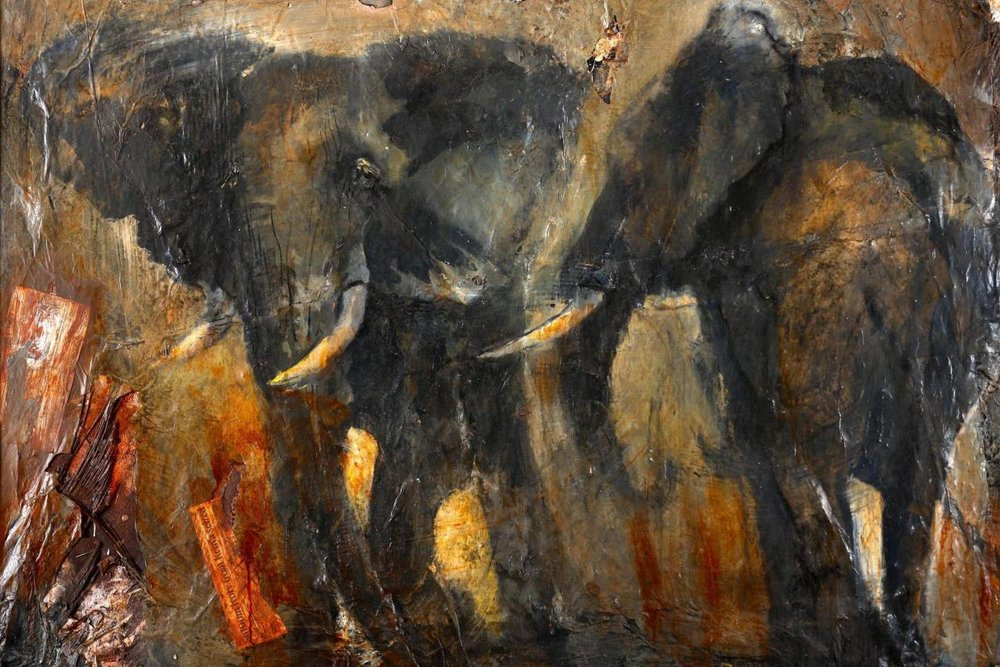 Artist Sophie Walbeoffe supports Brooke's work and became aware of the donkey's plight in Kenya after living there