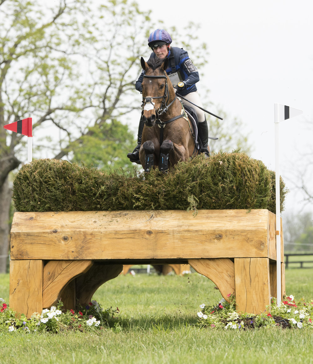 Zara Tindall and High Kingdom came third at the event (Rebecca Berry/FEI)