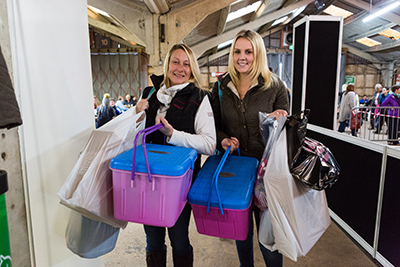 Shop 'til you drop at Your Horse Live - you'll find everything you need at more than 400 stands