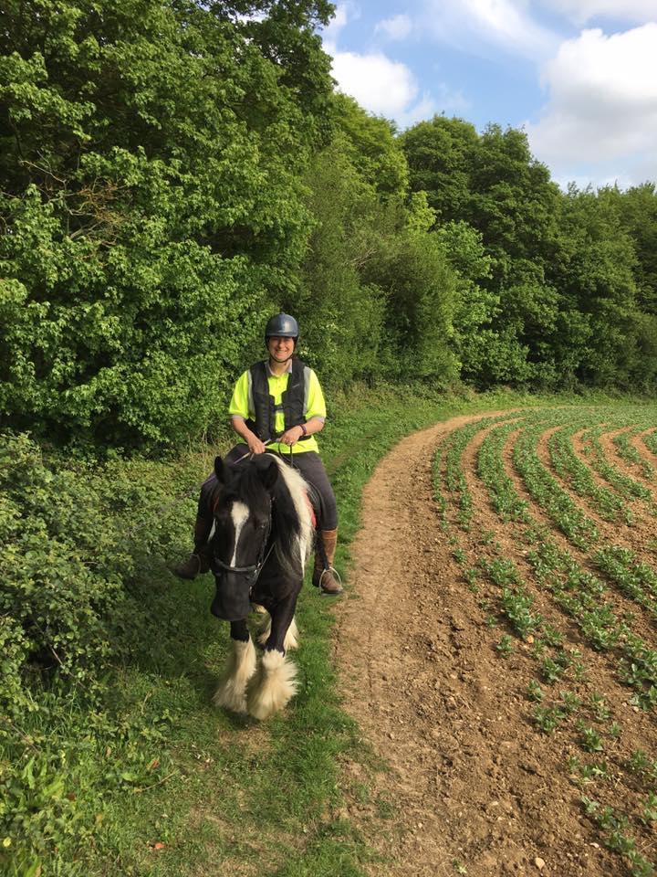 Sue Staszewksi enjoyed an 11-mile pleasure ride
