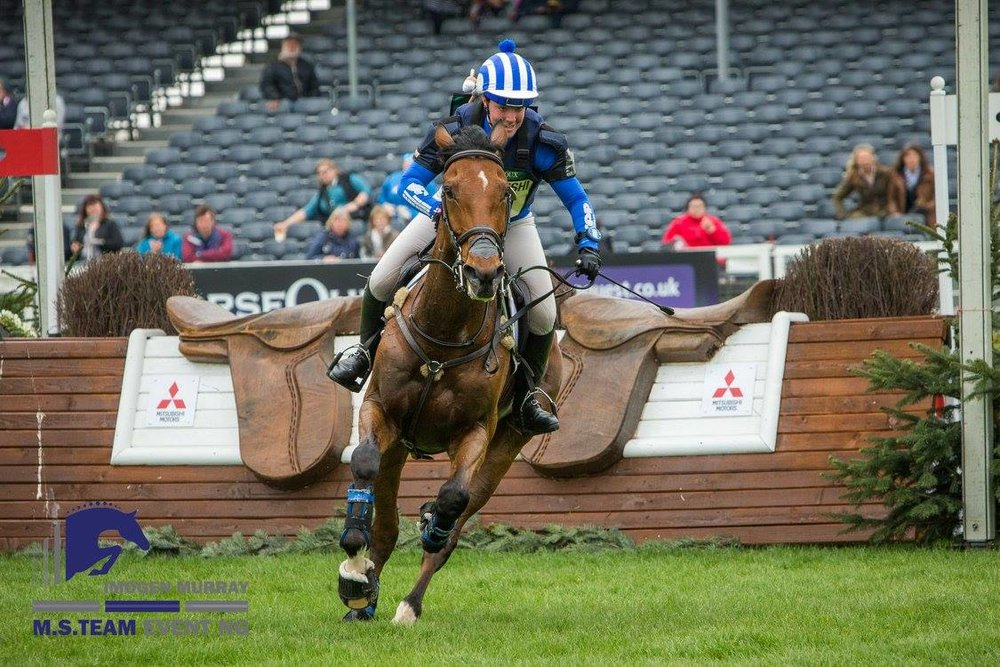 Imogen had a fab weekend riding Ivar Gooden (Pic: Tim Wilkinson)
