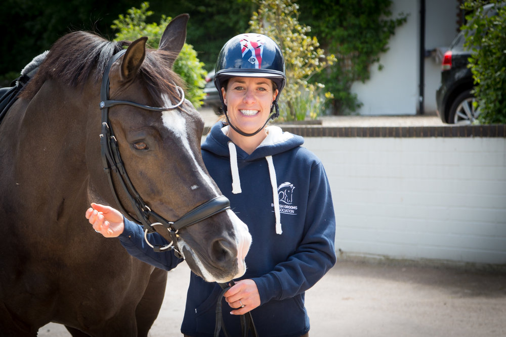 Charlotte has been named as the patron of the British Grooms Association (Pic: Su Burrows)