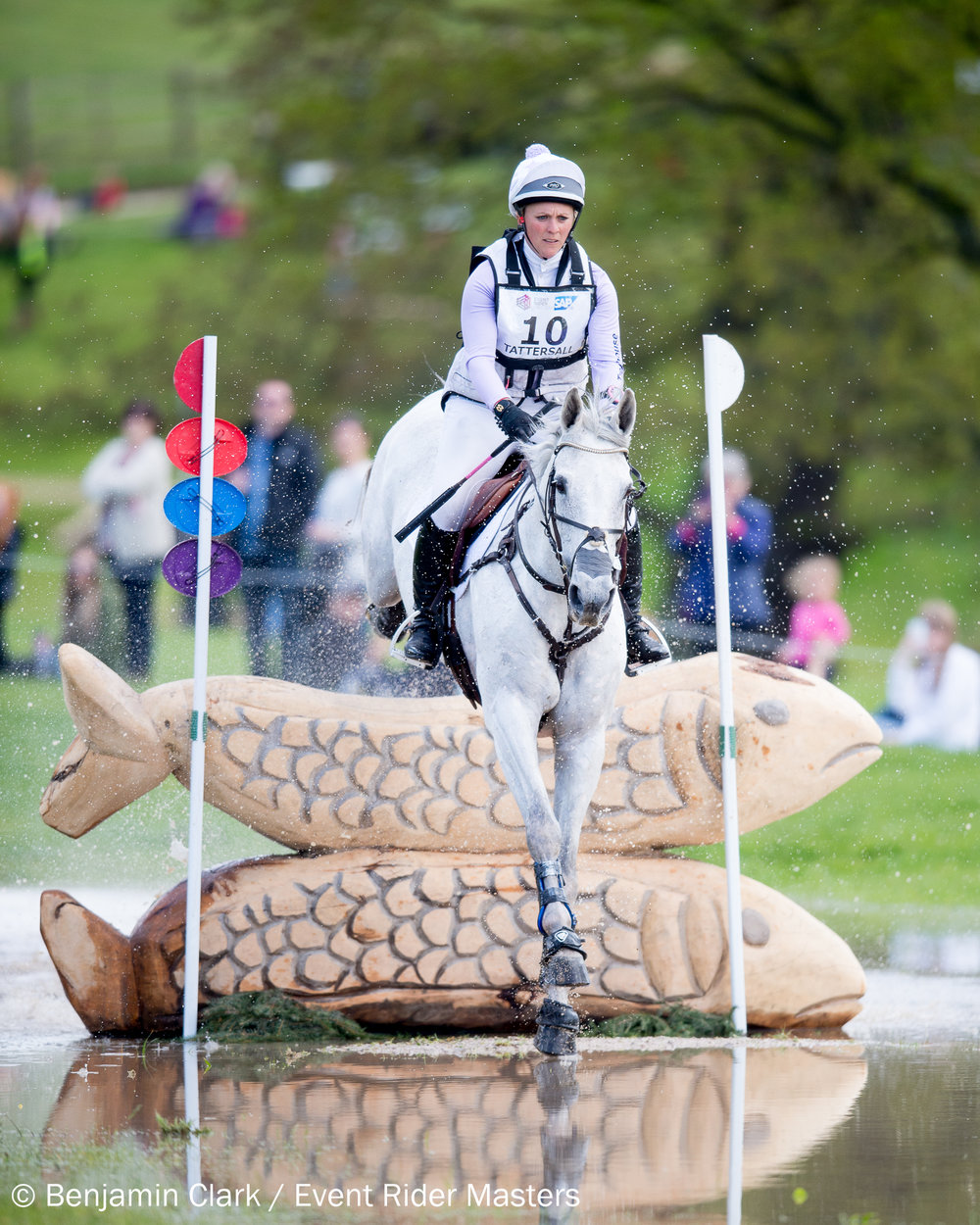 History makers Gemma Tattersall and Quicklook V en-route to winning Leg 1 of the 2017 Event Riders Masters