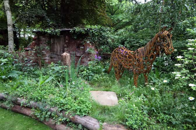 The World Horse Welfare Garden at RHS Chelsea Flower Show 2017 (Pic: World Horse Welfare)