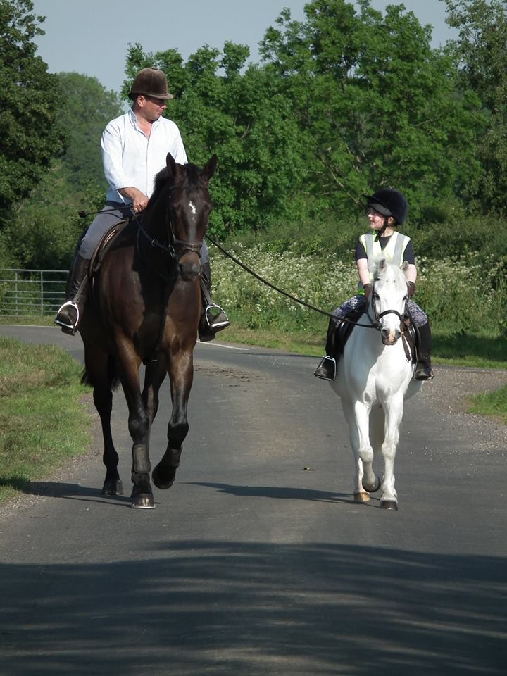 Top showing producer Robert Walker has been helping Lucy to clock up the miles (Pic: Brooke)