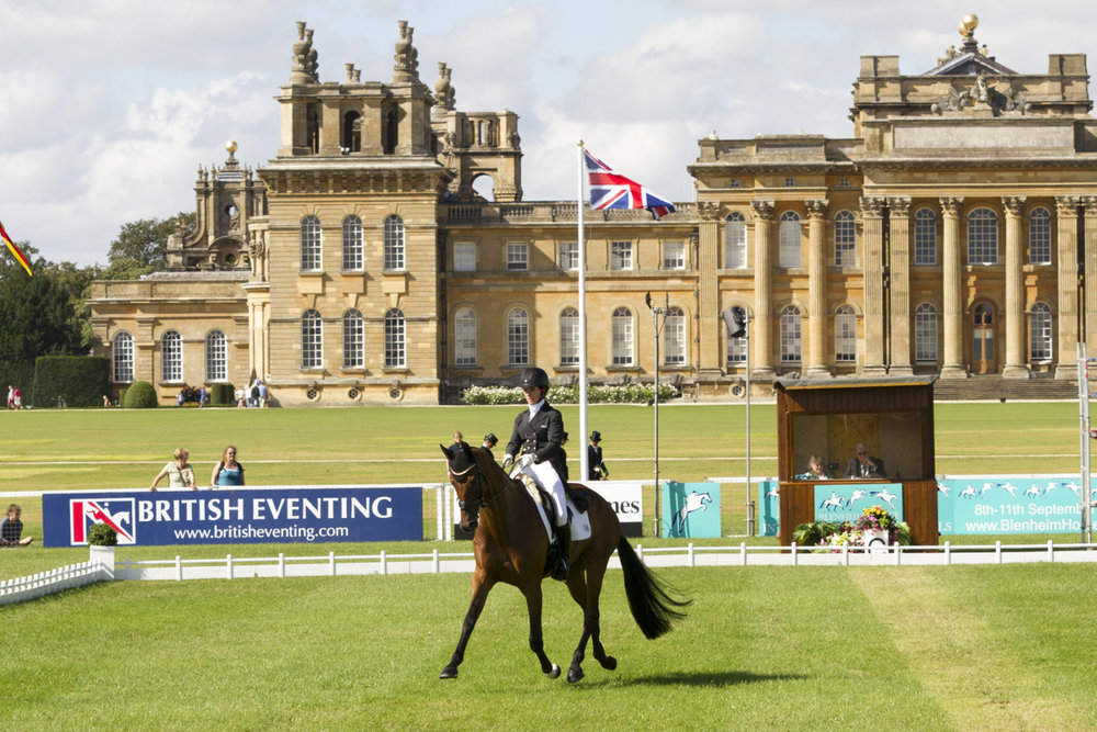 Where better to watch top horses competing than in the beautiful grounds of Blenheim Palace