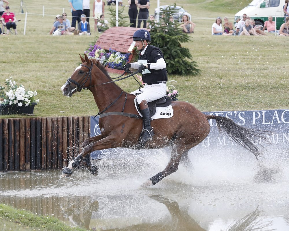 William rode Clifton Signature to victory at Barbury (Adam Dale)