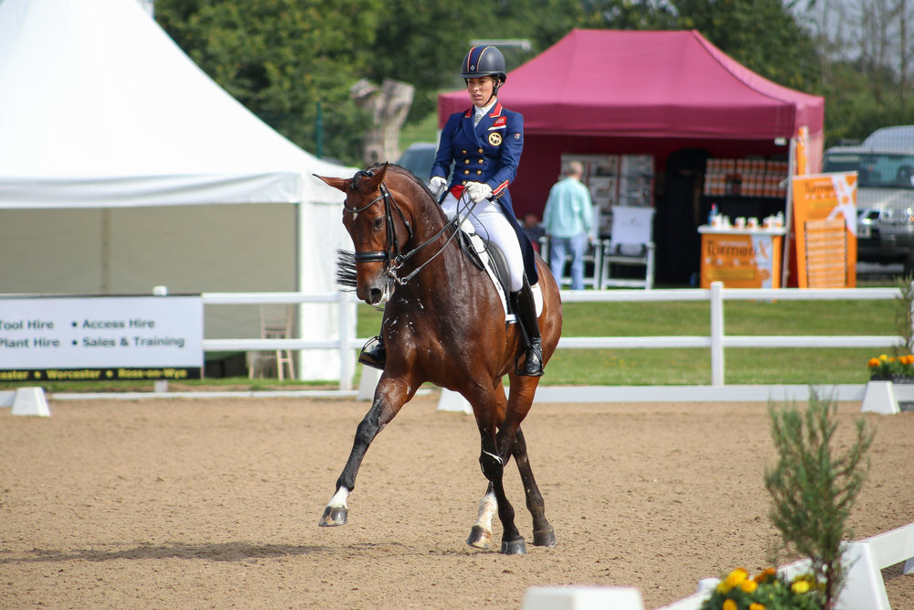 Charlotte Dujardin riding Mount St John Freestyle (Pic: Charlotte Colley)