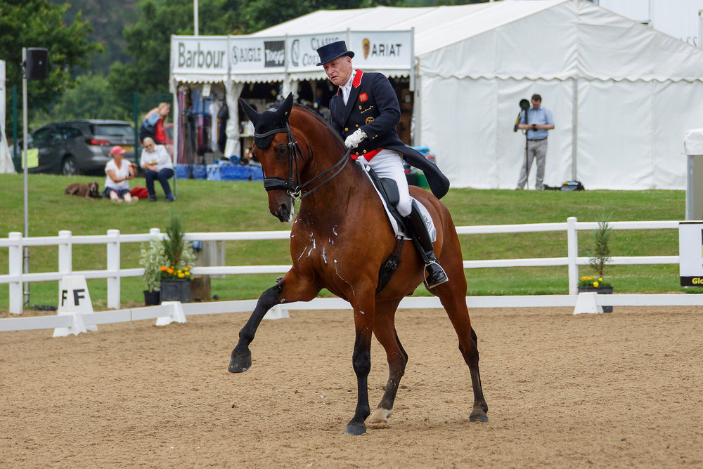Richard Davison riding Bubblingh (Pic: Charlotte Colley