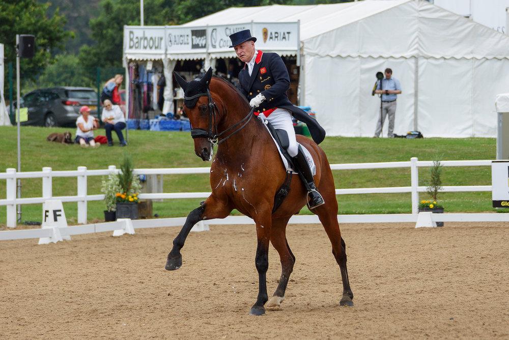 Richard Davison riding Bubblingh (Pic:Charlotte Colley