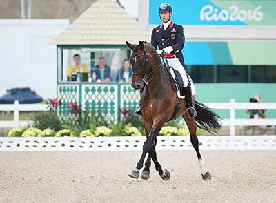 Carl Hester and Nip Tuck (Copyright: dpa picture alliance / Alamy)