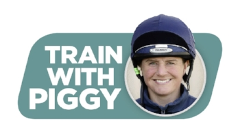 Train with Piggy logo