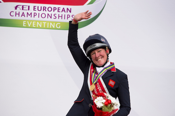 Nicola Wilson took bronze in the individual element of the competition (Pic: Jon Stroud Media)