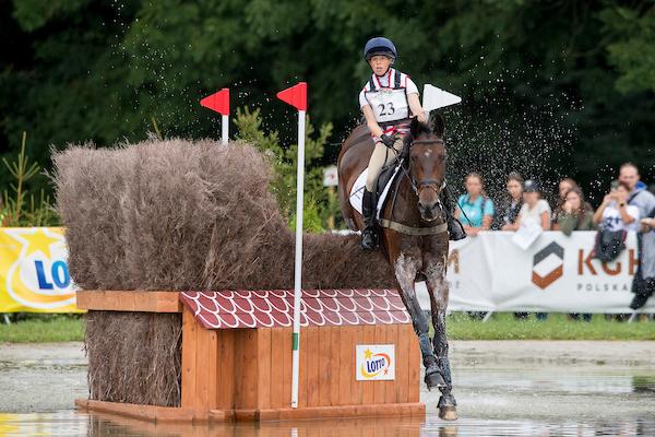 Ros Canter on her ride, Allstar B (Pic: Jon Stroud Media)