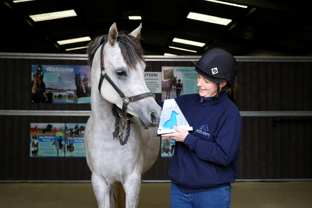 Now a picture of health, Emerald has claimed the 2017 'Back from the Brink' Animal Hero Award