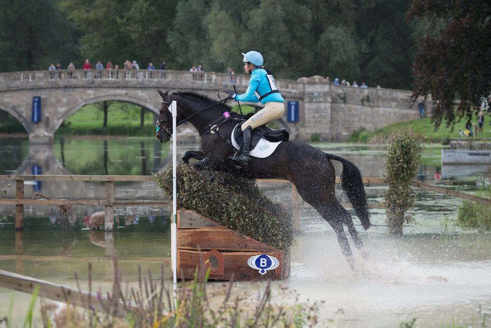 Izzy Taylor in action at Belnheim