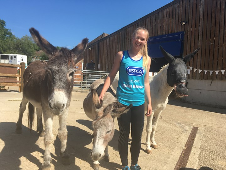 Charlotte is fundraising to help the equines living at RSPCA Lockwood
