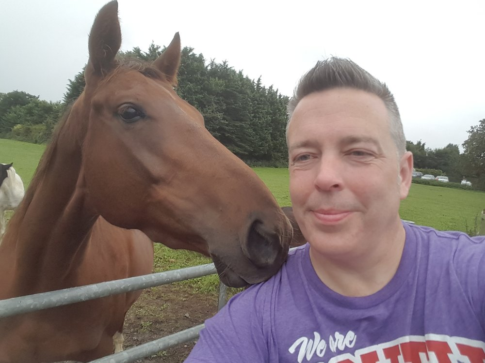 Darren's made a huge difference to his community (including the horses!) Pic: HorseWorld