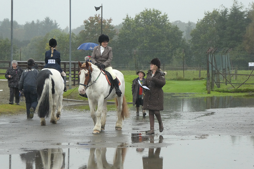 It might have been a soggy day at the RDA championships at Glasgow RDA but spirits were still high!