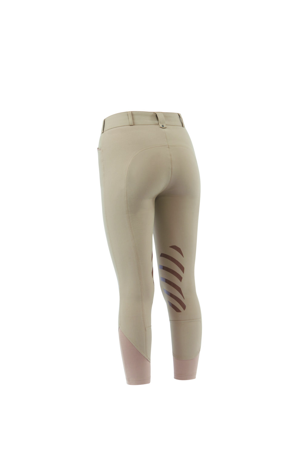 The Prime Gel Breeches come in a mid-rise fit