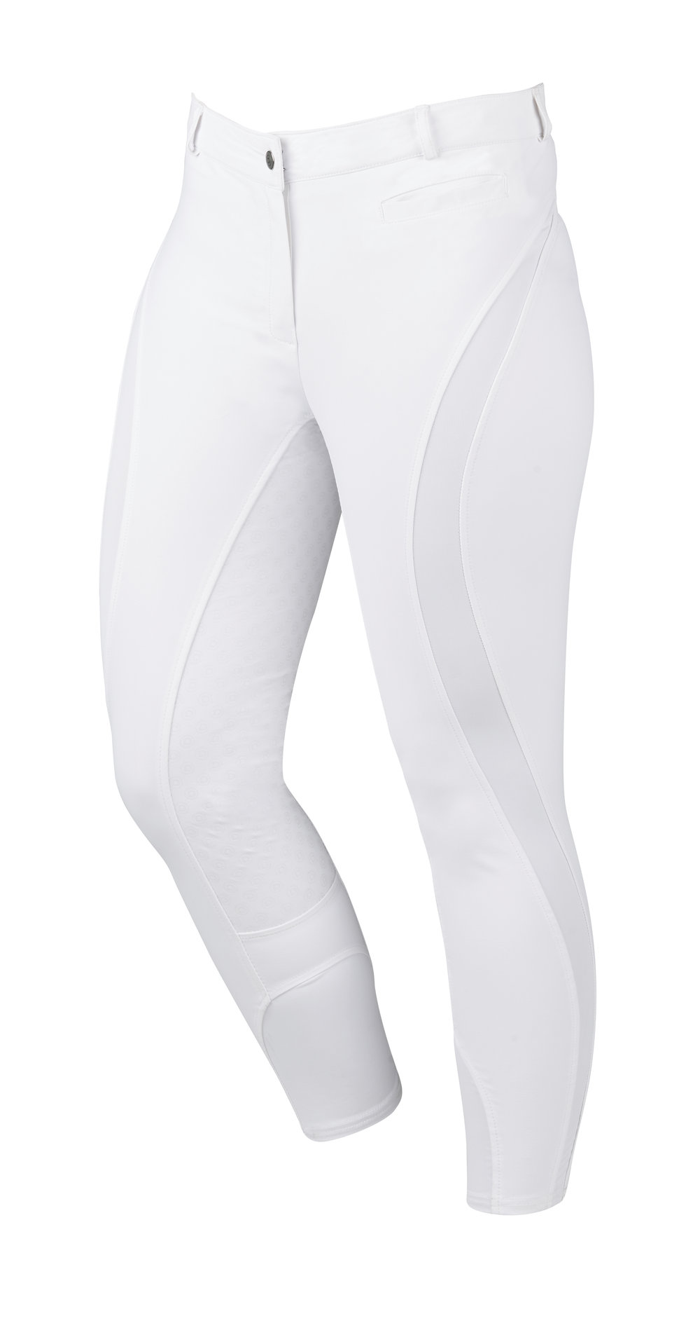 The Edge Gel Breeches feature an action panel for supreme range of motion