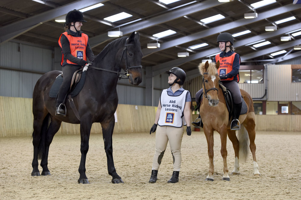 Aldi doesn't think cost should hold people back from trying equestrian sport